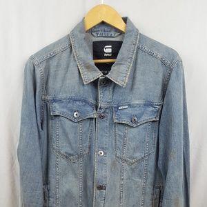 G-Star Raw Men's Vintage Wash Jean Jacket